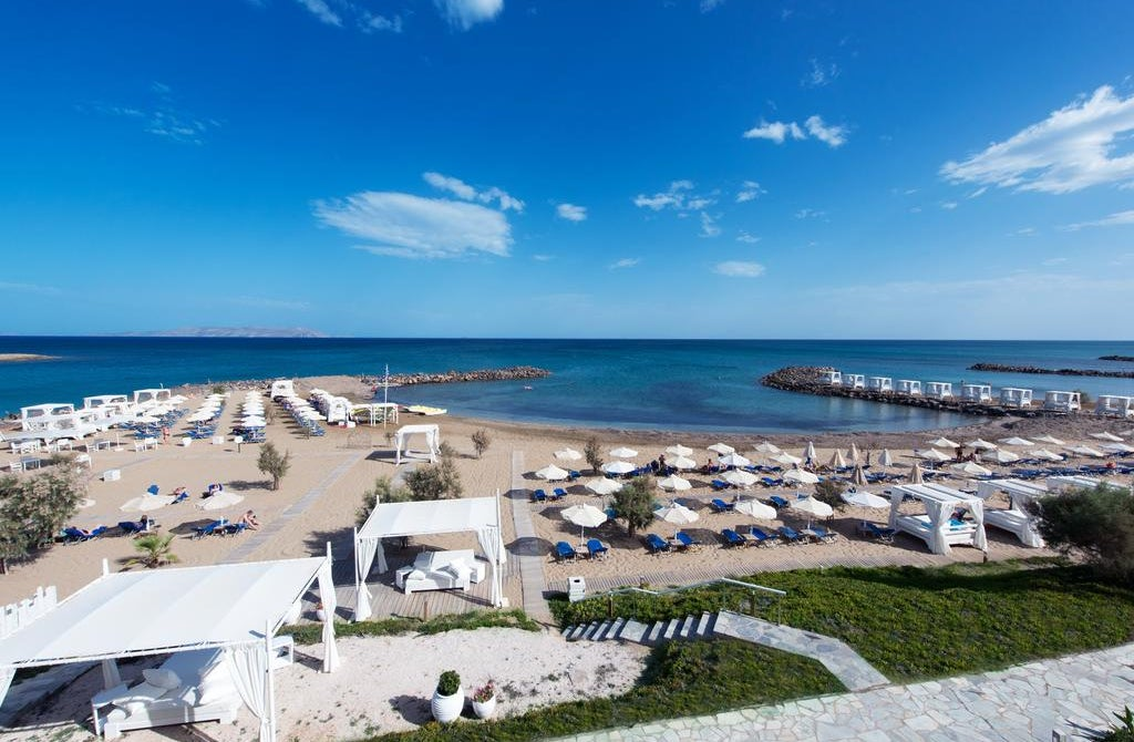 Knossos Beach Bungalows and Suites in Crete, Kokkini Hani