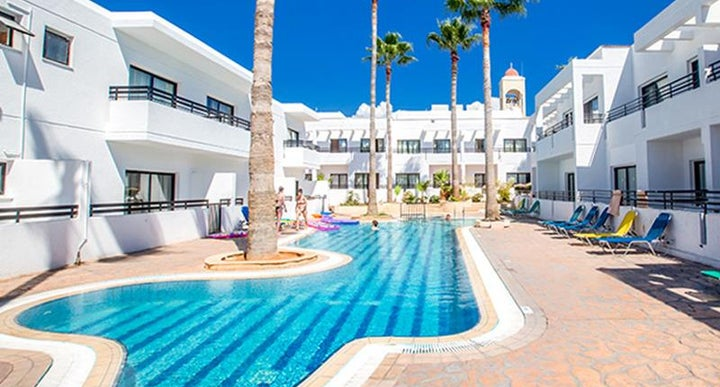 Anthea Hotel Apartments in Ayia Napa, Cyprus | Holidays ...