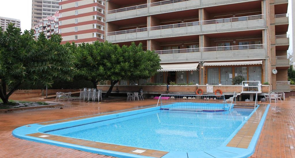 Alpha apartments in benidorm spain holidays from 211pp - Swimming pool repairs costa blanca ...