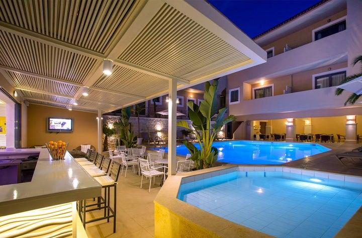 La Stella Apartments & Suites in Rethymnon, Crete, Greek Islands