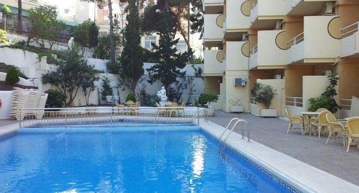 Blue sea calas marina hotel in benidorm spain holidays - Swimming pool repairs costa blanca ...